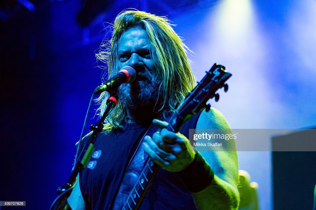 Guitarist Pepper Keenan of Corrosion of Conformity performs at Fox Theater on May 29, 2016 in Oakland, California.
