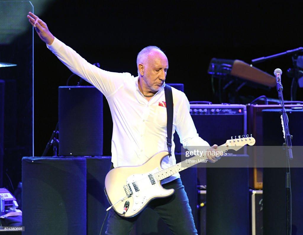 The Who Kicks Off Las Vegas Residency At Caesars Palace : News Photo