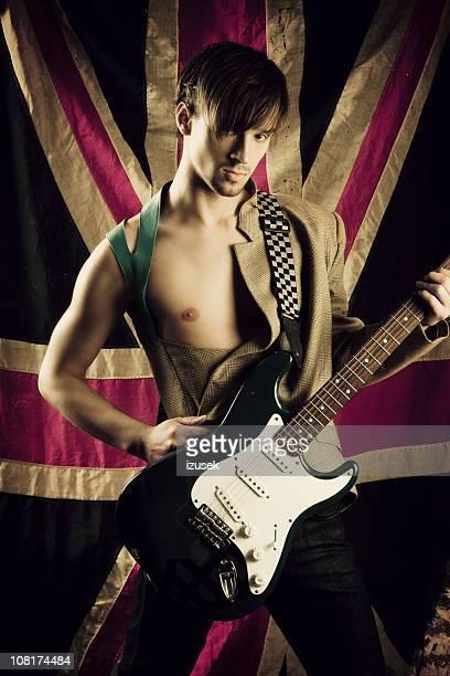 guitarist - izusek stock photos and pictures