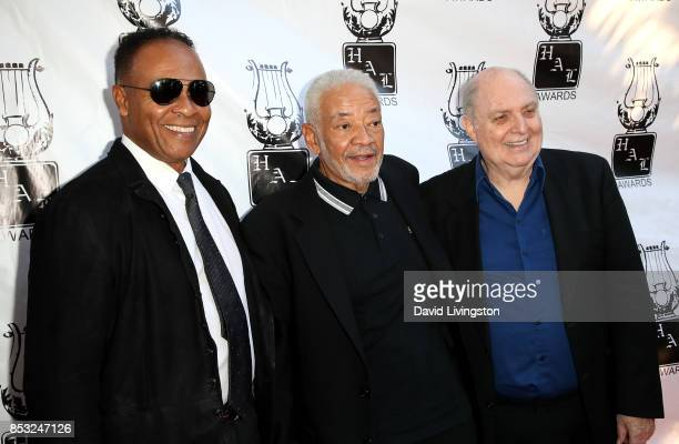 Guitarist Ray Parker Jr., singer Bill Withers, and singer Billy Vera attend the 28th Annual Heroes and Legends Awards at Beverly Hills Hotel on...