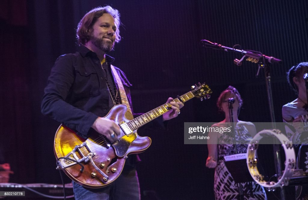 Guitarist Rich Robinson of The Magpie Salute performs at Neighborhood Theatre on August 15, 2017 in Charlotte, North Carolina.