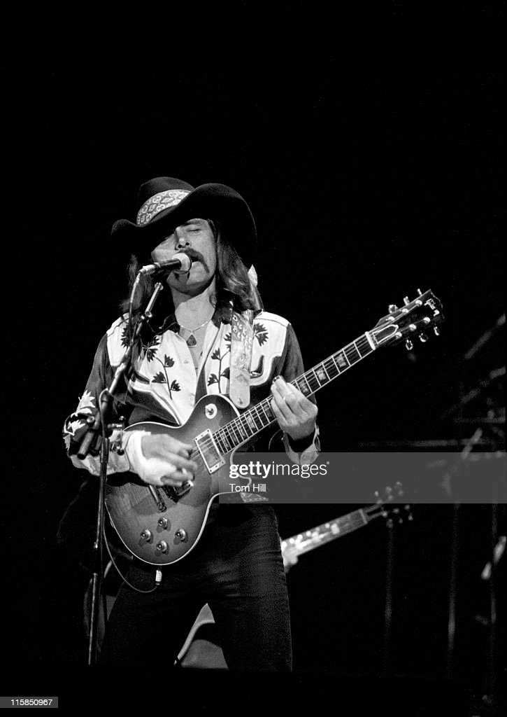 Richard (Dickey) Betts of The Allman Brothers Band