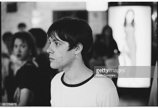 Guitarist Richey James Edwards of Welsh alternative rock group the Manic Street Preachers Bangkok Thailand 27th April 1994