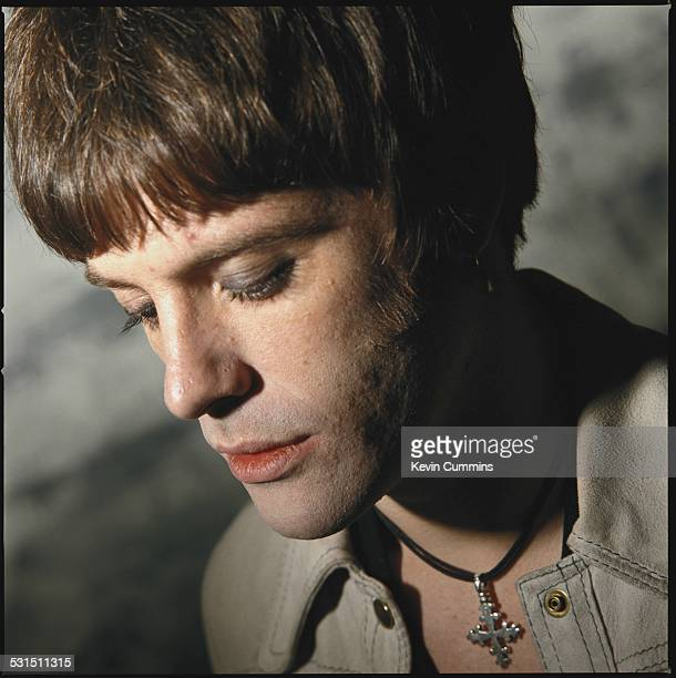 Guitarist Richey James Edwards of Welsh alternative rock group the Manic Street Preachers London 2nd June 1993