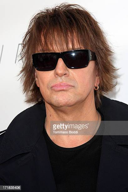 Guitarist Richie Sambora attends the Genlux issue release party held at the Luxe Rodeo Drive Hotel on June 28 2013 in Beverly Hills California