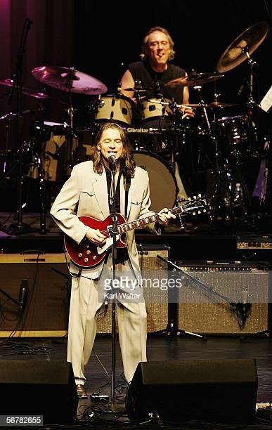 Guitarist Robben Ford performs at the Les Paul Birthday Celebration show at Gibson Amphitheatre at Universal CityWalk on February 7 2006 in Universal...