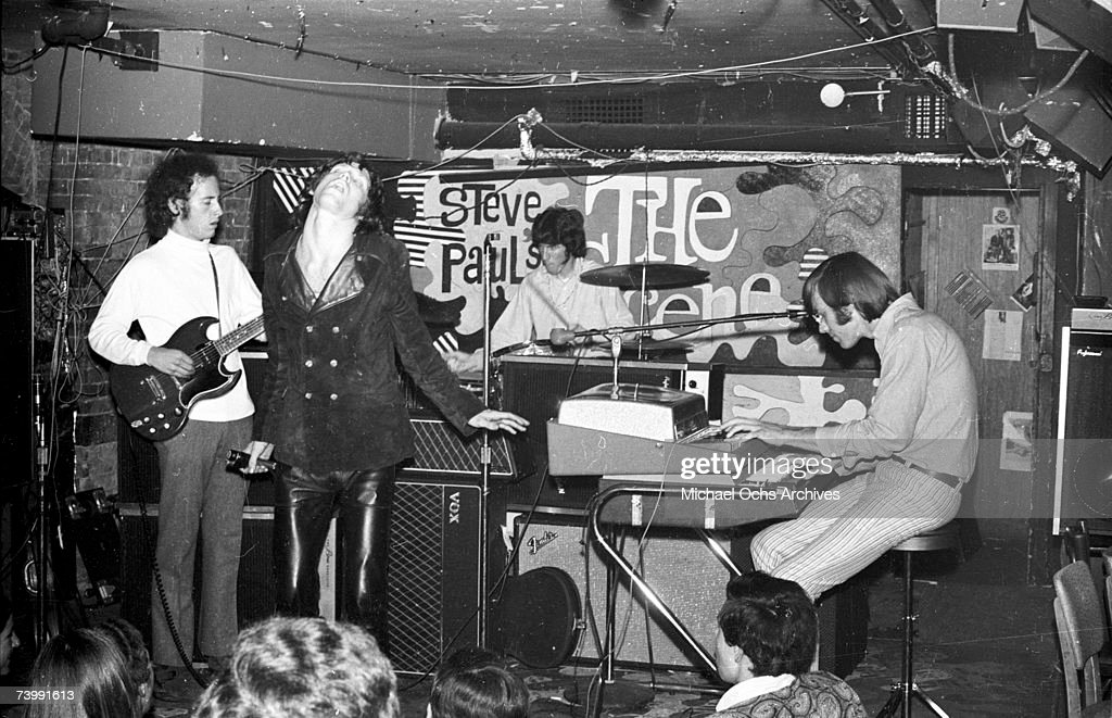The Doors Perform At Steve Paul's The Scene In NY : News Photo
