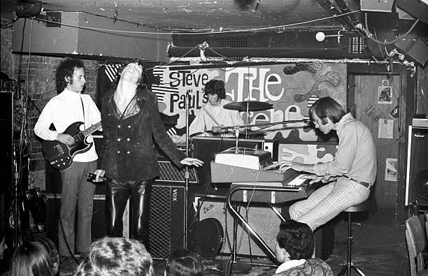 The Doors Perform At Steve Paul's The Scene In NY Wall Art