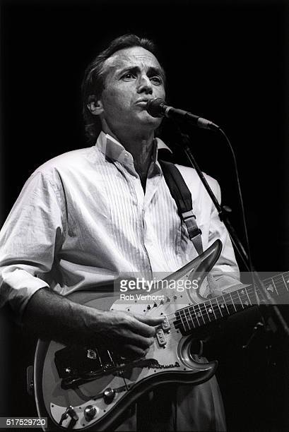 Guitarist Ry Cooder performs on stage at Vredenburg Utrecht Netherlands 29th May 1988