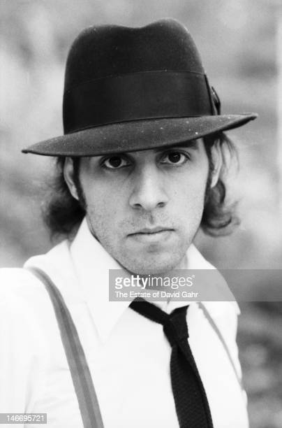 Guitarist singer songwriter actor and member of Bruce Springsteen's E Street Band Steve Van Zandt poses for a portrait on October 17 1979 in Holmdel...