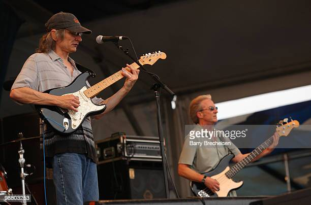 Guitarist Sonny Landreth performs during Day 6 of the 41st annual New Orleans Jazz & Heritage Festival at the Fair Grounds Race Course on May 1, 2010...