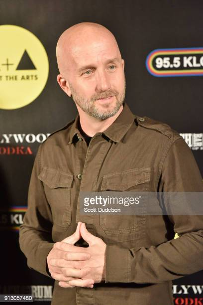 Guitarist Sonny Mayo attends the Adopt the Arts annual rock gala at Avalon Hollywood on January 31 2018 in Los Angeles California