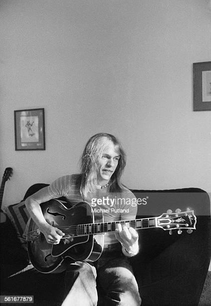 Guitarist Steve Howe of English progressive rock group Yes 8th October 1975