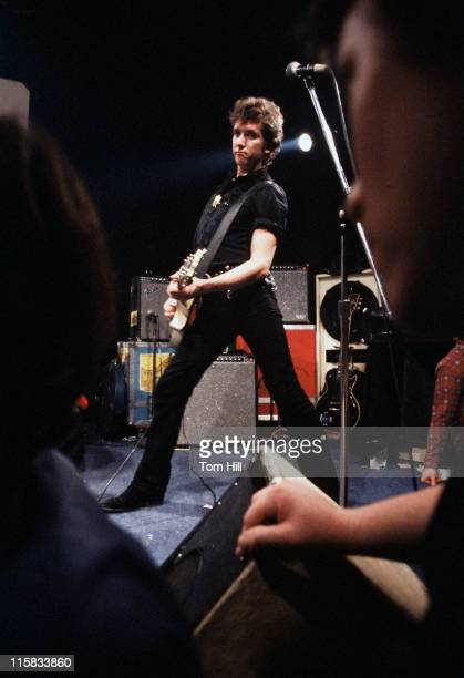 Steve Jones of the Sex Pistols during Sex Pistols Play Their First North American Concert at Great SouthEast Music Hall in Atlanta January 5 1978 at...