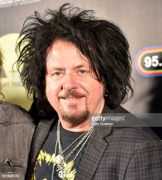 Guitarist Steve Lukather of the band Toto attends the Adopt the Arts annual rock gala at Avalon Hollywood on January 31 2018 in Los Angeles California