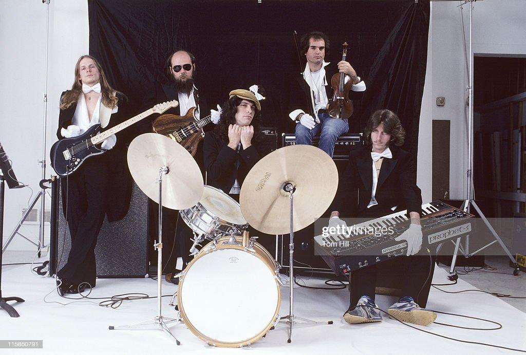 The Dixie Dregs  Portrait Session - April 24, 1979
