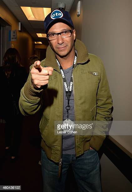 Guitarist Tom Morello attends day one of the 25th annual KROQ Almost Acoustic Christmas at The Forum on December 13, 2014 in Inglewood, California.
