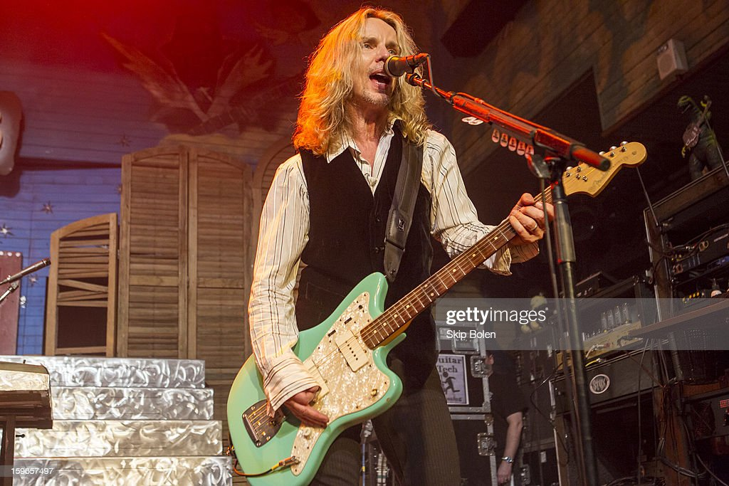 Guitarist Tommy Shaw of the band Styx performs at the House of Blues on January 17, 2013 in New Orleans, Louisiana.