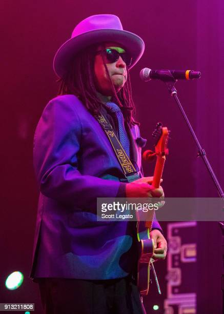Guitarist Torrell Ruffin of the Time performs at The Soundboard Motor City Casino on February 1 2018 in Detroit Michigan