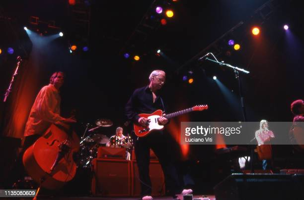Guitarist vocalist and songwriter Mark Knopfler performing in Rome Italy 2006
