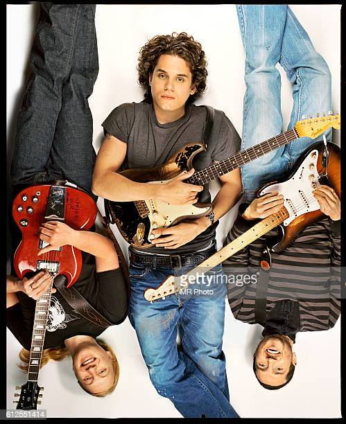 Guitarists Derek Trucks, John Mayer and John Frusciante are photographed for Rolling Stones Magazine in 2007. COVER IMAGE.