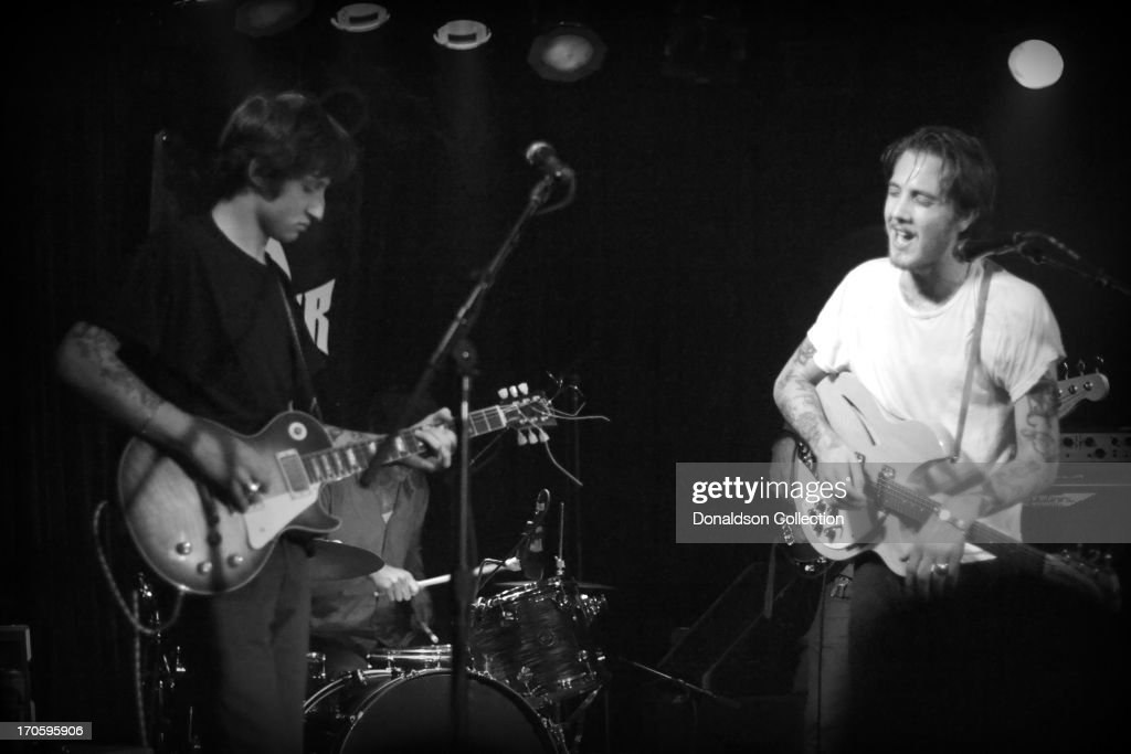 Jack Byrne Ford >> Guitarists Jack Byrne And Malcolm Ford Of The Rock And Roll Band