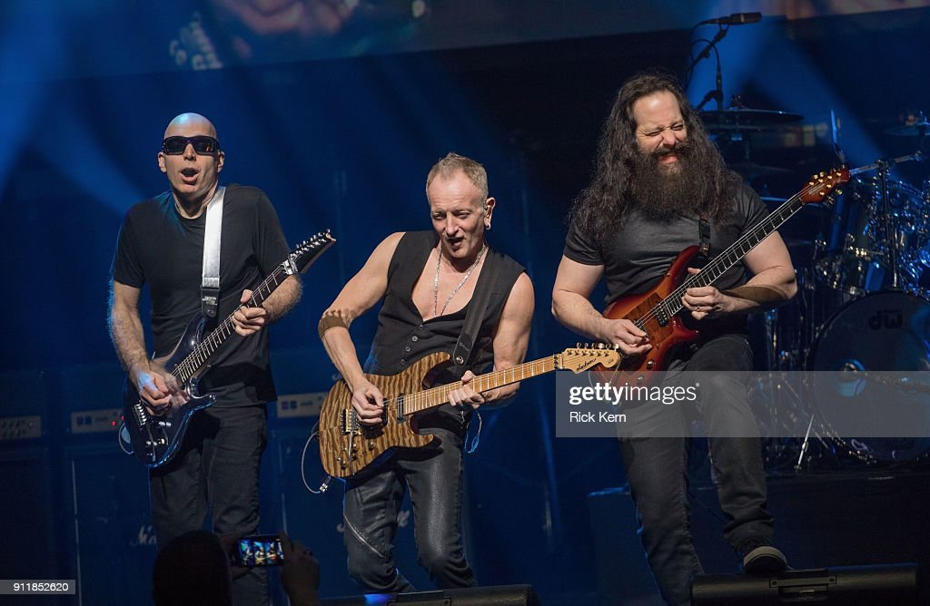 Joe Satriani, John Petrucci, Steve Morse en el G3 Tour-South ...