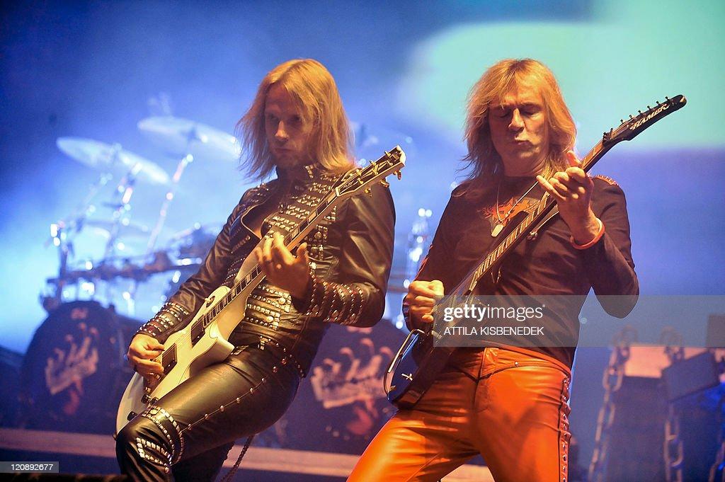 Guitarists Of British Heavy Metal Band F