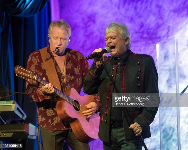Guitarist/Singer Graham Russell and singer Russell Hitchcock of Air Supply perform live in concert at Sony Hall on October 26 2018 in New York City