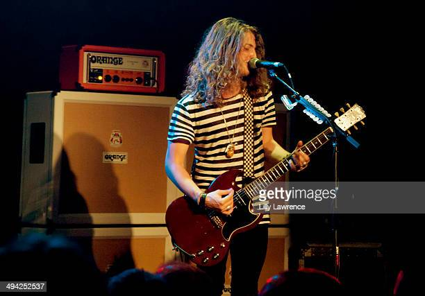 Guitarist/singer/songwriter Andrew Watt of California Breed performs at The Whiskey A Go Go on May 28 2014 in West Hollywood California