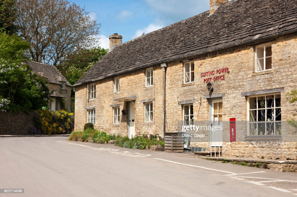 Guiting Power, Cotswolds, Gloucestershire : Stock Photo