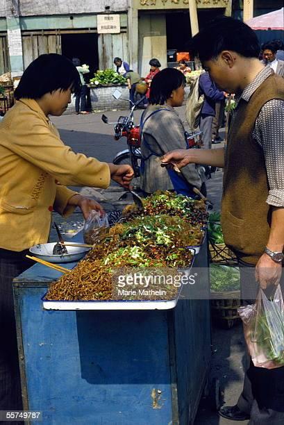 Guiyang . Market. 1987.