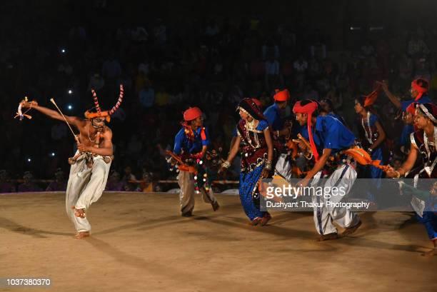 Gujarati Rathwa Dance.