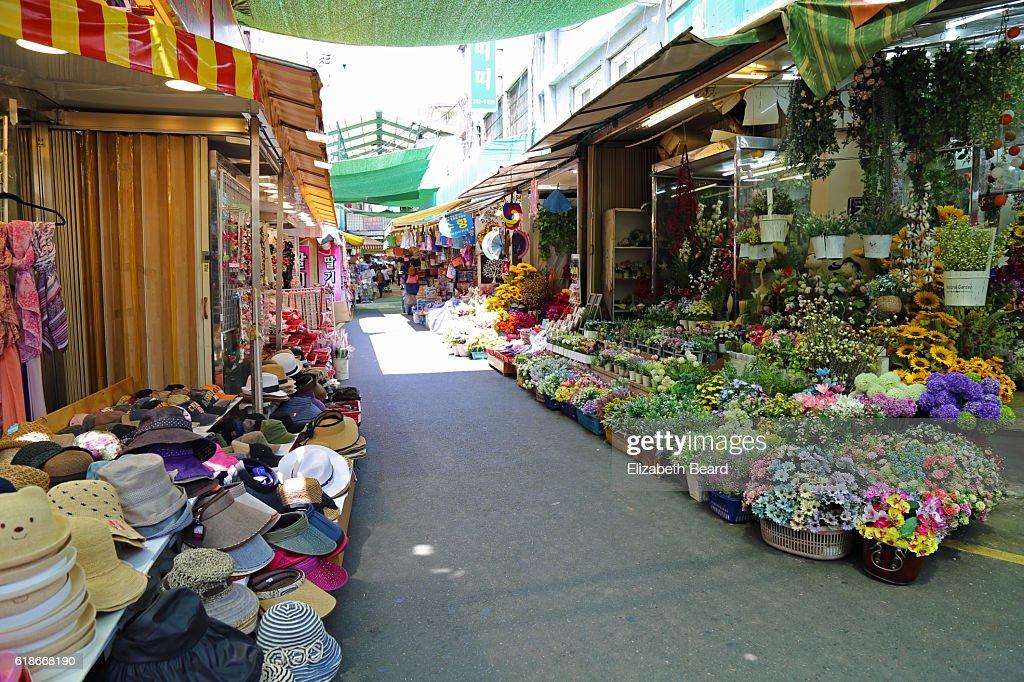 Gukje Market, Busan, Korea : Stock Photo