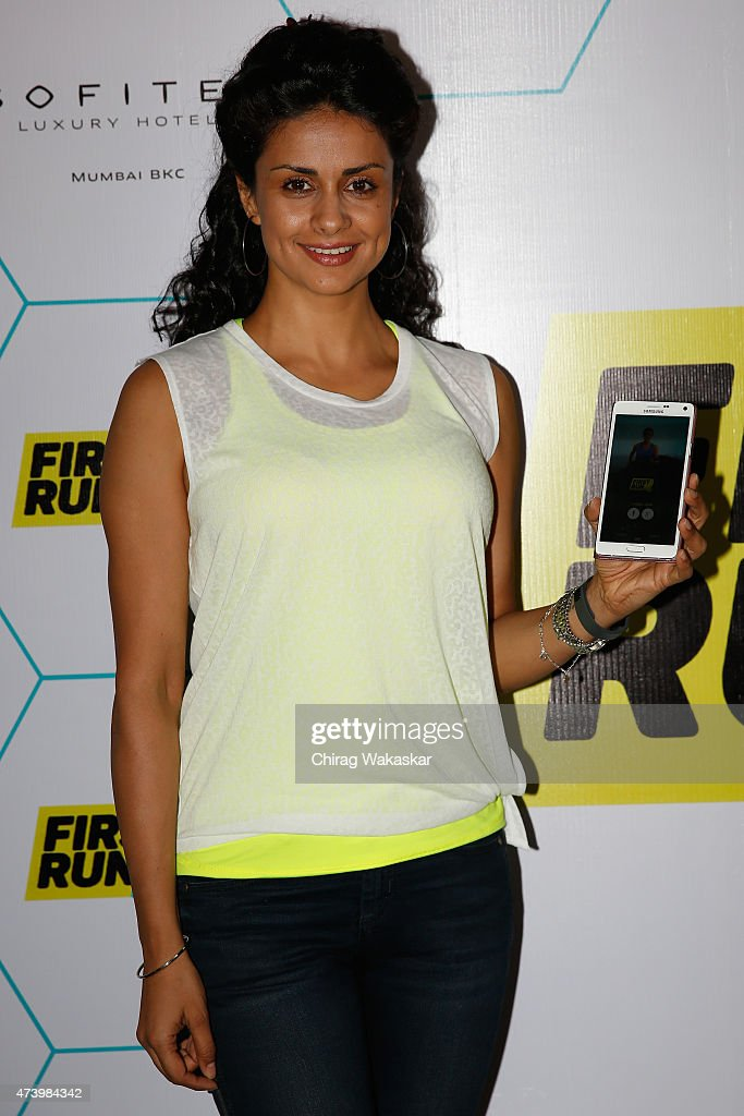 Gul Panag launches MobileFit's First Run Fitness App