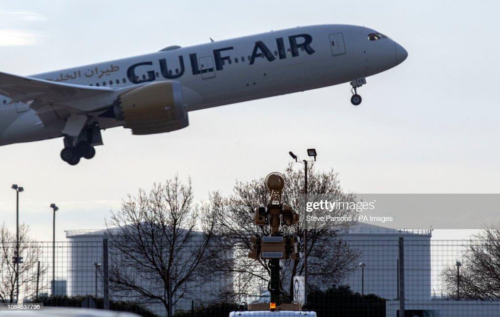 Heathrow drone disruption : Nieuwsfoto's