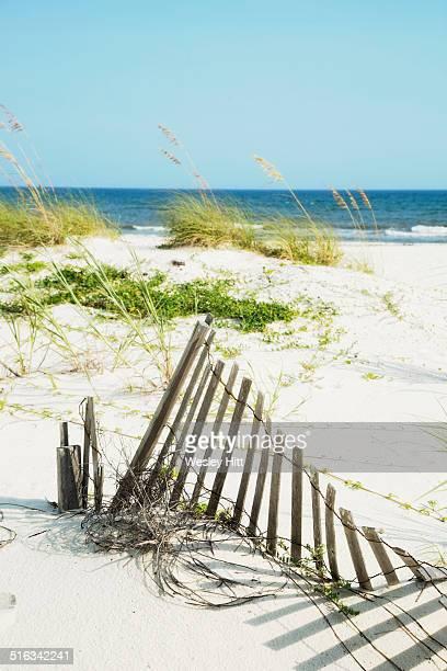 Gulf coast white sandy beaches