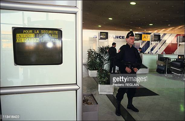 Gulf Crisis The Security Roissy On January 15Th1991