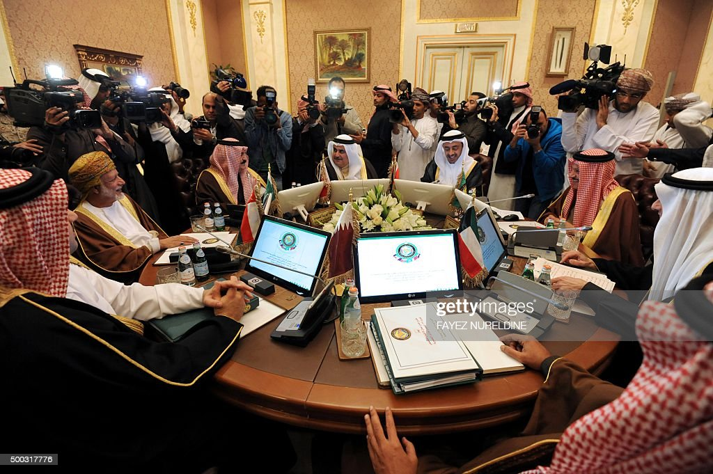 SAUDI-GCC-MEETING : News Photo