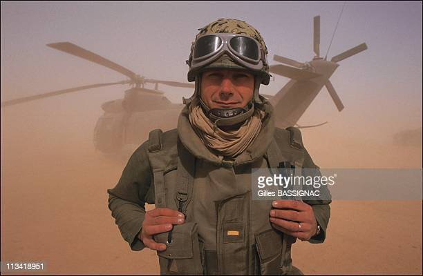 Gulf Helicopter Regiment French Battle On February 1St1991