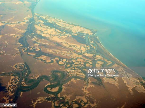 gulf of carpentaria - dendrite stock photos and pictures