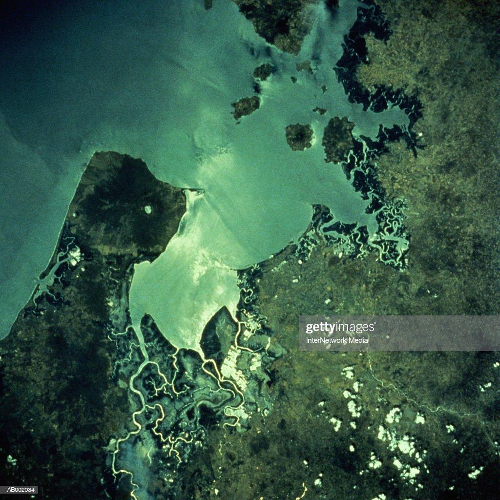Gulf of Fonseca Nicaragua : Stock Photo