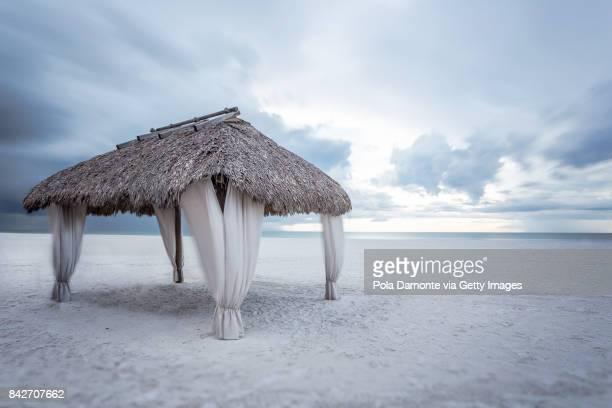 Gulf of Mexico beach. Marco Island beach in Florida