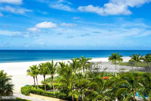 Gulf of Mexico beach. Marco Island beach in Florida