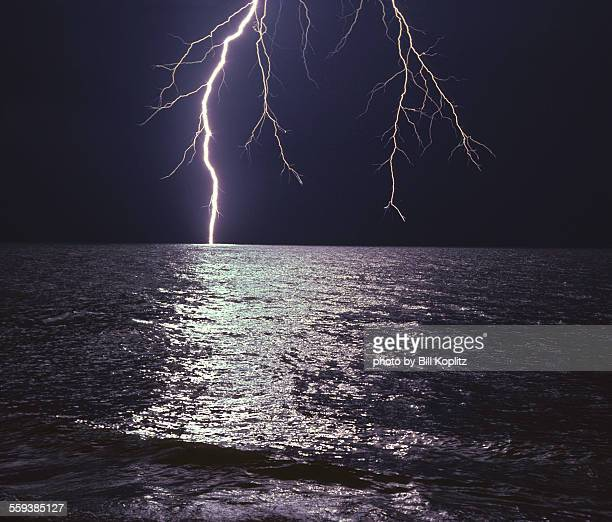 Gulf of Mexico lightning storm