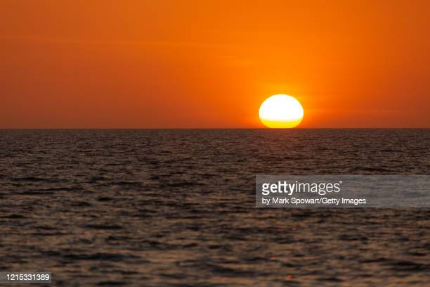 gulf of mexico sunset - sarasota stock pictures, royalty-free photos & images