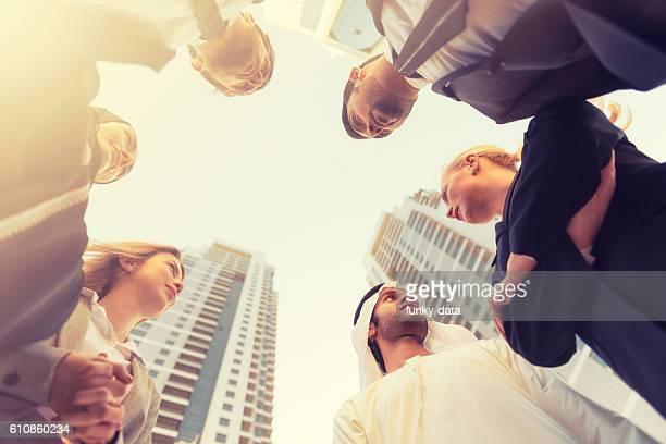 Gulf region business team