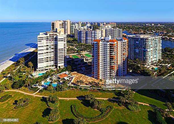 gulf shore living - naples florida stock pictures, royalty-free photos & images