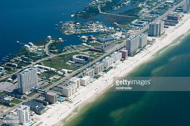 gulf shores beaches - gulf shores alabama stock pictures, royalty-free photos & images