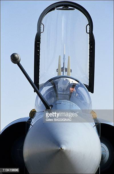 Gulf The Air Base Of Al Ahsa On February 18th 1991 Mirage 2000